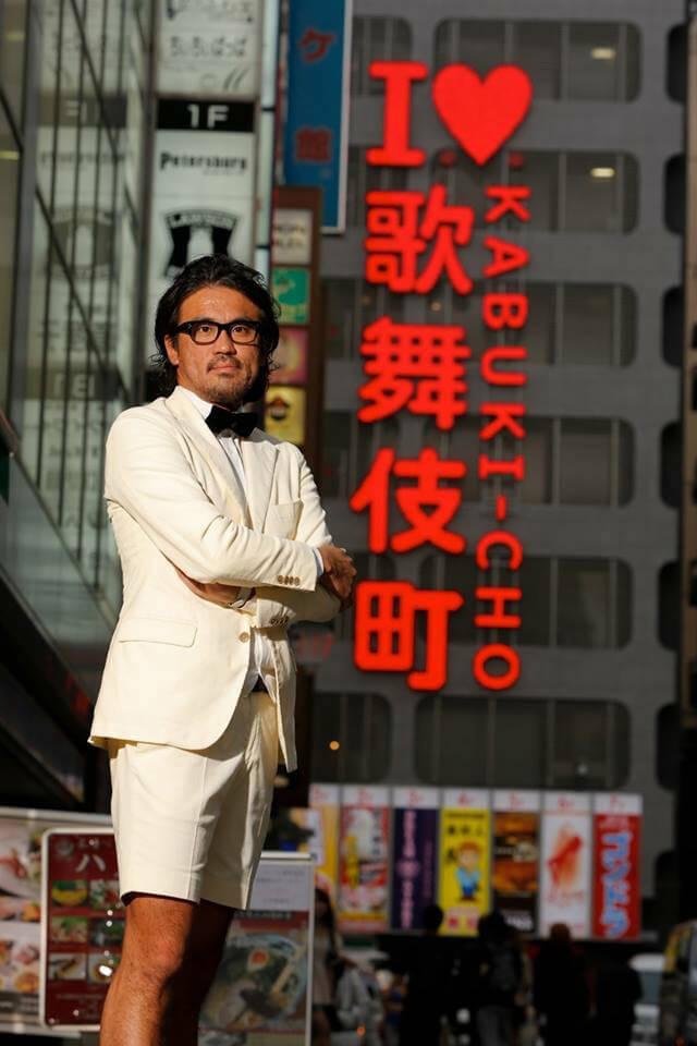 アイラブ歌舞伎町の看板