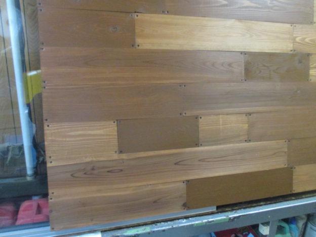 木製ランマ看板