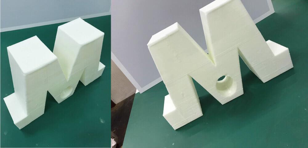 3Dプリンターで出力し、立体造形