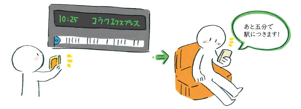 XPANDコードで看板からネットの世界へスムーズに!