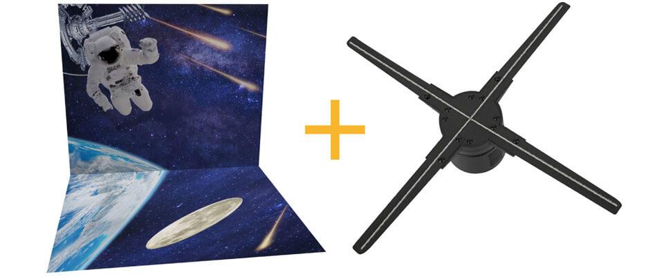 立体造形看板やトリック3Dアートと組み合わせ